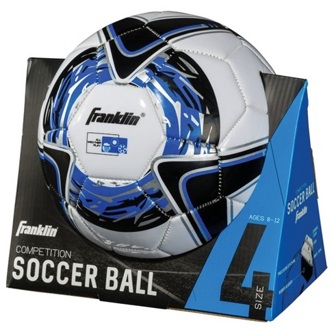 Franklin Sports All Weather Soccer Ball Comp - Blue Size 4 - image 1 of 1