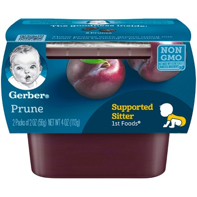 Gerber 1st Foods Baby Food Prune - 2oz (2ct)