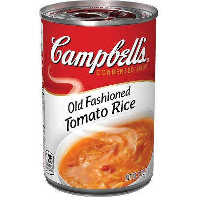 Campbell's Condensed Old Fashioned Tomato Rice Soup - 11oz