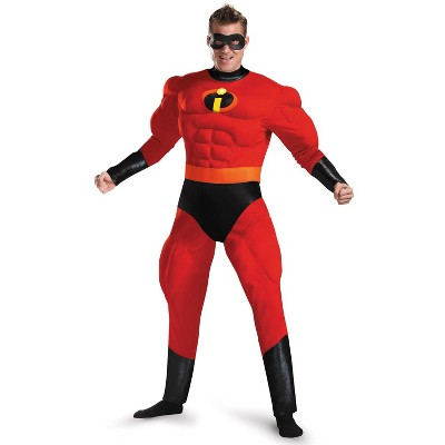 The Incredibles Mr. Incredible Deluxe Muscle Adult Costume