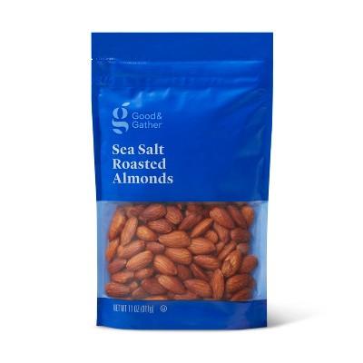 Sea Salt Roasted Almonds - 11oz - Good & Gather™