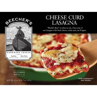 Beecher's Handmade Cheese Frozen Cheese Curd Lasagna - 23oz