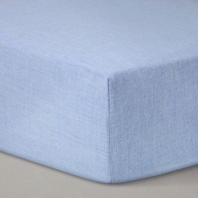 Fitted Crib Sheet Solid - Cloud Island™ Royal Blue