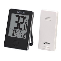 Taylor Wireless Digital Indoor & Outdoor Thermometer