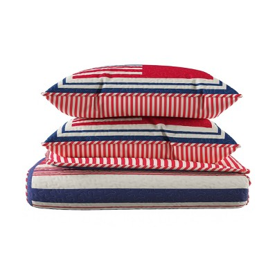 Glory Bound Americana Flag Bed Set