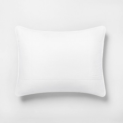 Standard Quilted Pillow Sham Sour Cream - Hearth & Hand™ with Magnolia