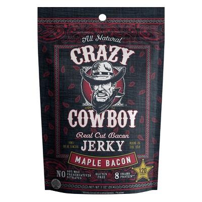 AriZona Crazy Cowboy Maple Bacon Beef Jerky - 1oz