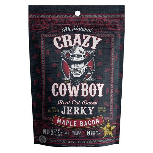 AriZona Crazy Cowboy Maple Bacon Beef Jerky - 1oz - image 1 of 1