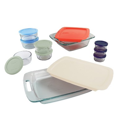 Bake and Store 20pc Clear - Pyrex
