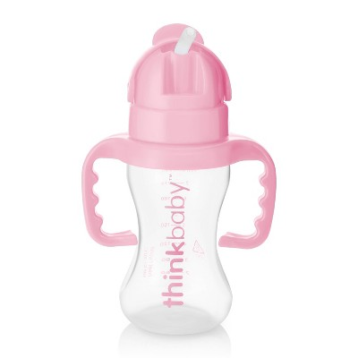 Thinkbaby Toddler Straw Cup Pink