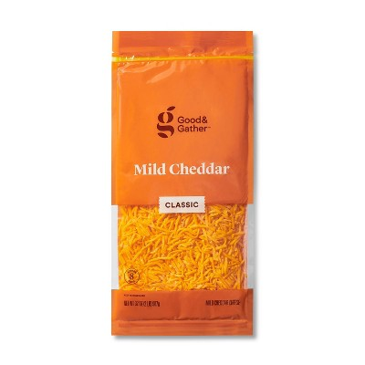 Shredded Mild Cheddar Cheese - 32oz - Good & Gather™