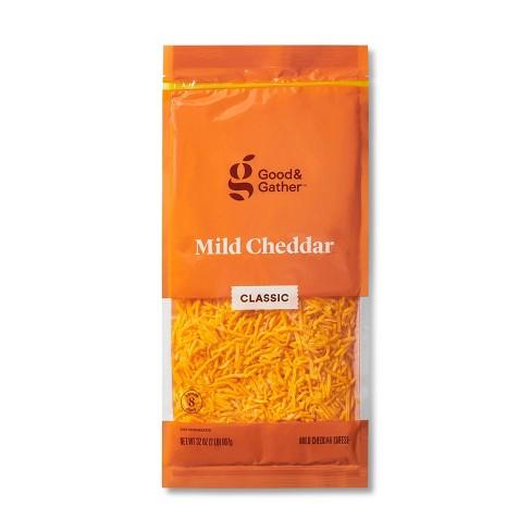 Shredded Mild Cheddar Cheese - 32oz - Good & Gather™ - image 1 of 2