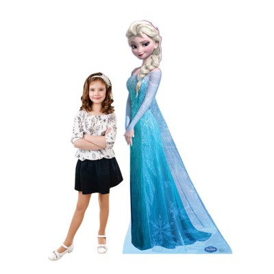 Birthday Express Frozen Party Snow Queen Elsa Standup - 6' Tall