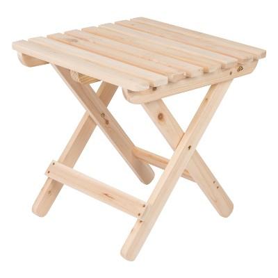 Adirondack Folding Table - Natural