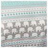 Elephant Striped Quilt Bedding Set - Lush Décor - image 4 of 4