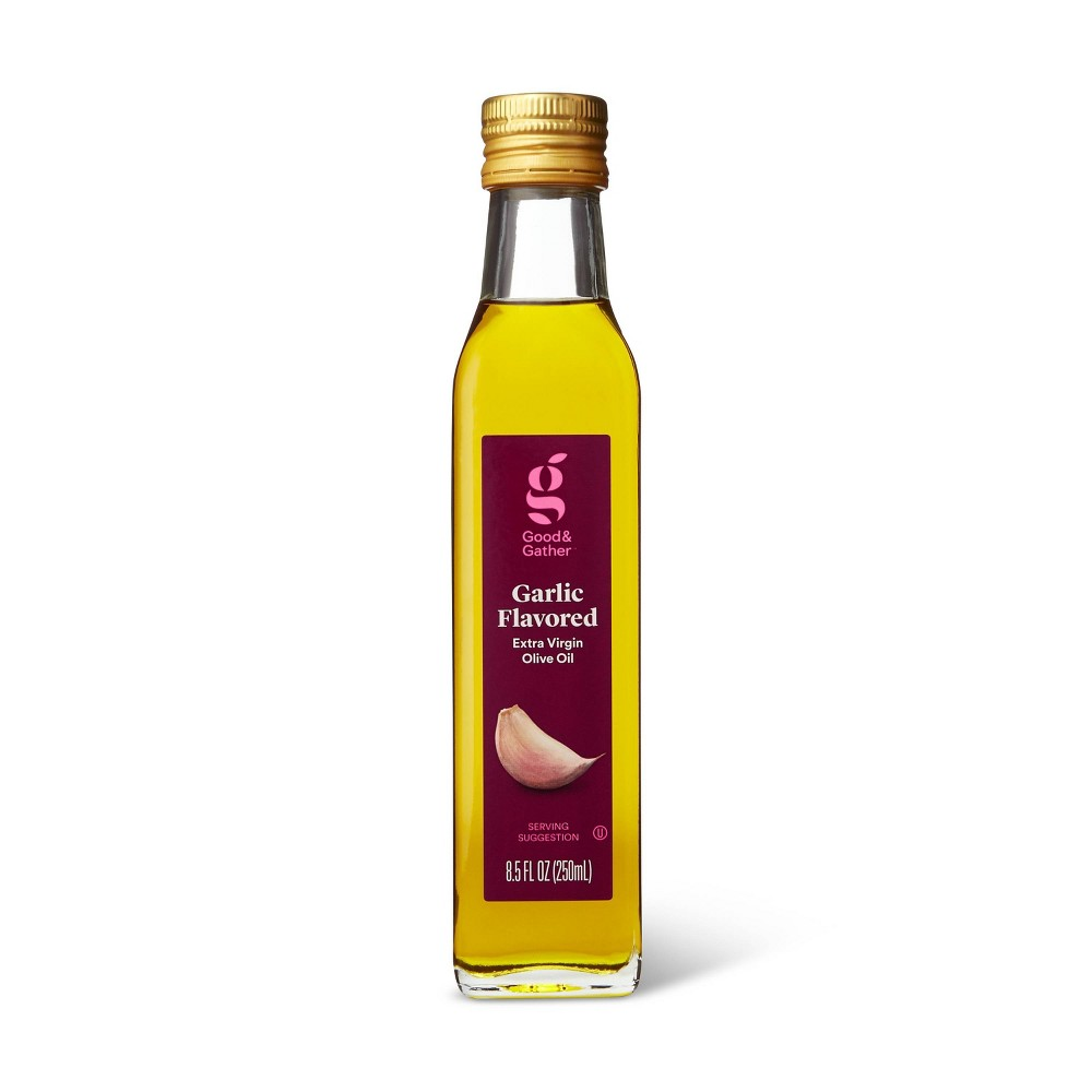 Garlic Infused Extra Virgin Olive Oil 8 5oz Good 38 Gather 8482