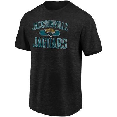 NFL Jacksonville Jaguars Men's Heather Short Sleeve T-Shirt