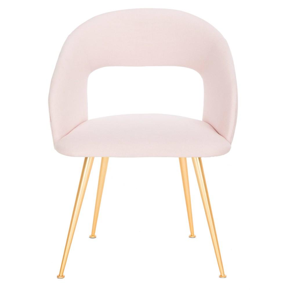 Lorina Arm Chair Light Pink - Safavieh