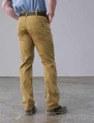 2480066a Dickies Men's Tough Max™ Flex Regular Straight Fit Duck Canvas 5-Pocket  Pants