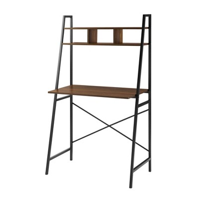 Sophia Metal and Wood Tiered Ladder Desk - Saracina Home