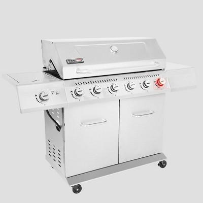 Royal Gourmet 6-Burner Stainless Steel Gas Grill GA6402S
