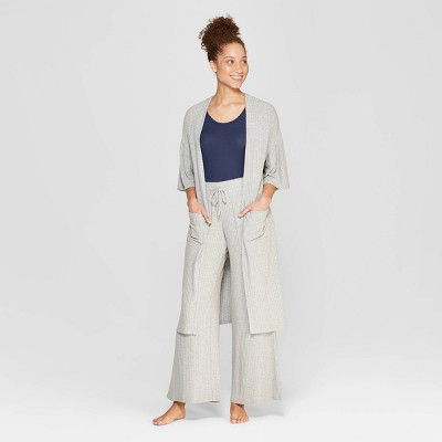Women's Wide Rib Robe - Stars Above™ Gray XL/XXL