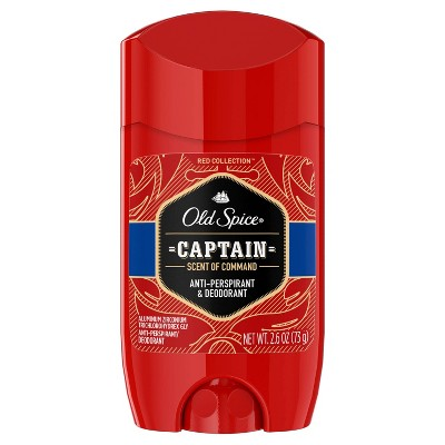 Old Spice Red Collection Captain Invisible Solid Deodorant - 2.6oz