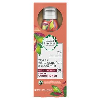 Herbal Essences Bio:Renew Volume White Grapefruit & Mosa Mint Foam Conditioner - 6oz
