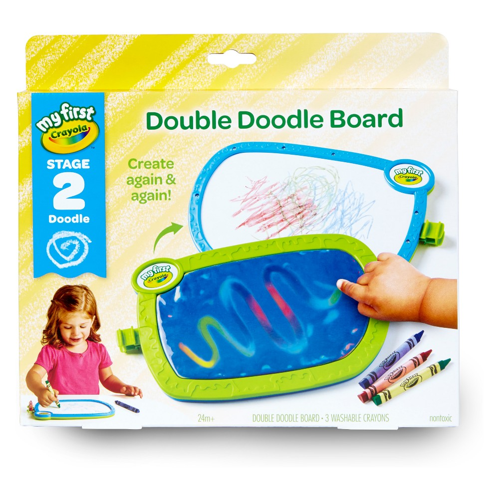 Image of My First Crayola Double Doodle Board Stage 2