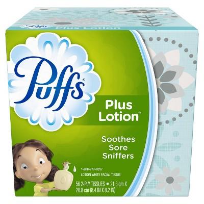 Tissues: Puffs Plus Lotion