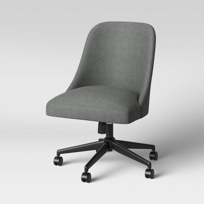 Geller Upholstered Office Chair Slate Gray - Project 62™