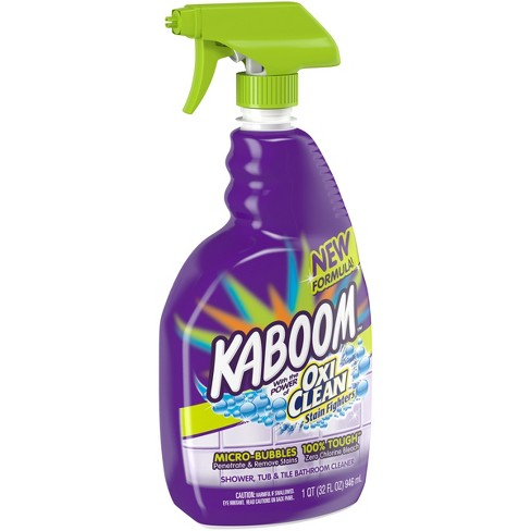 Kaboom With OxiClean Shower Tub Tile Cleaner 32 Oz Tar