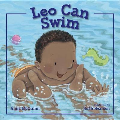 Leo Can Swim by Anna McQuinn (Hardcover)