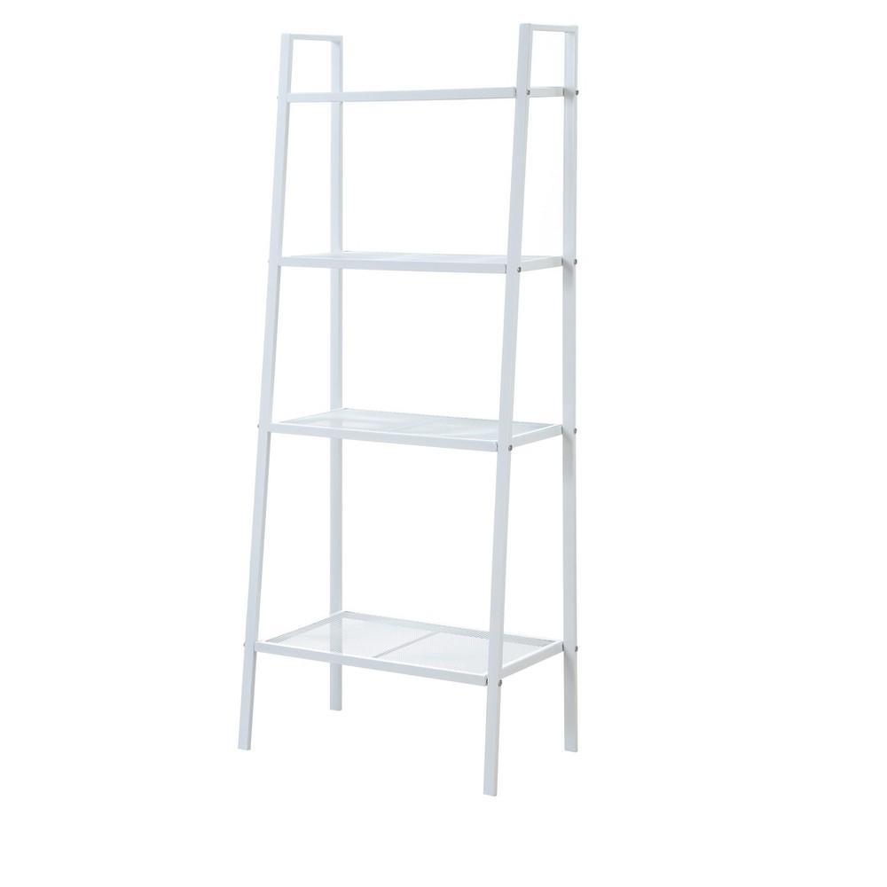 Xtra Storage 4 Tier Metal Shelving White 58.5 - Johar Furniture