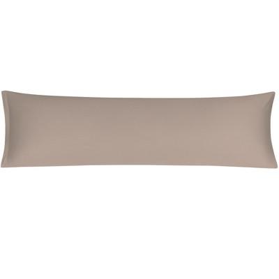 1 Pc Body 280 Thread Count Egyptian Cotton Pillowcase Pale Coffee Color - PiccoCasa