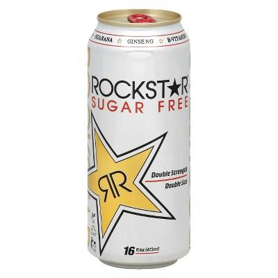 Rockstar® Sugar Free Double Strength Energy Drink - 16 fl oz Can