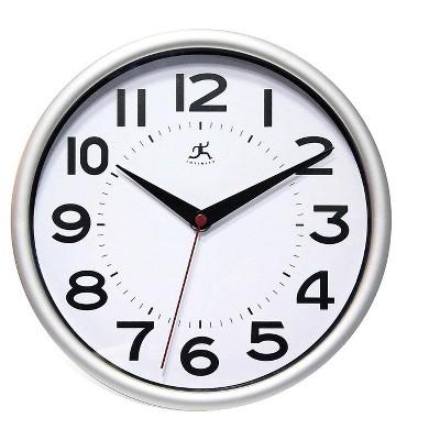 Infinity Instruments Metro Wall Clock 9 Dia. 949663