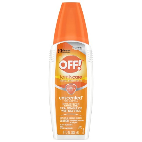 OFF! FamilyCare Unscented Insect Repellent IV - 9oz/1ct - image 1 of 4