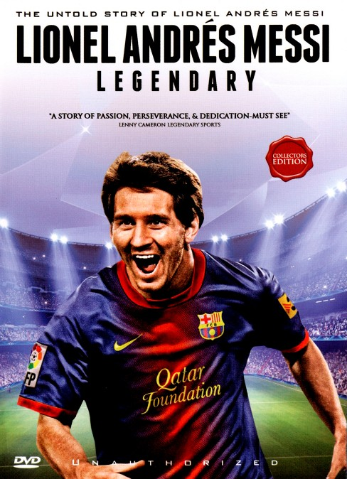 Lionel andres messi:Legendary (DVD) - image 1 of 1
