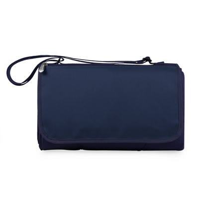 Picnic Time Blanket Tote Outdoor Picnic Blanket - Navy
