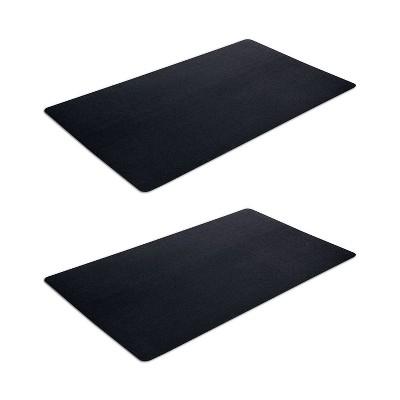 3'x5' Rectangle Indoor and Outdoor Floor Mat Black - VersaTex