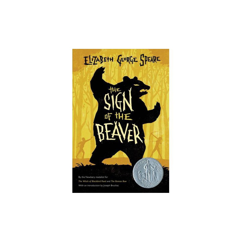 Sign of the Beaver - Lrg by Elizabeth George Speare (Paperback)