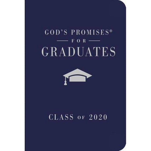 God's Promises for Graduates: Class of 2020 - Navy NKJV - (God's Promises(r)) by  Jack Countryman - image 1 of 1