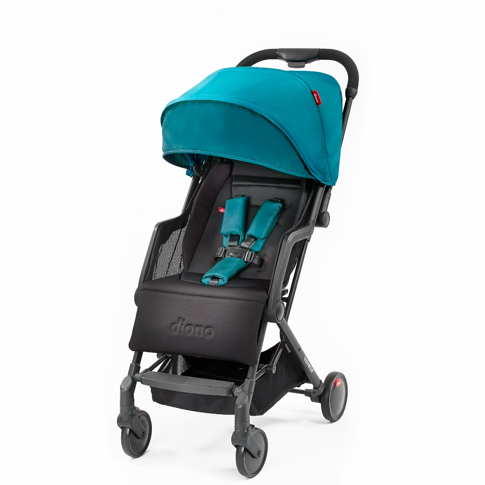 Diono Traverze Plus Lightweight Compact Travel Stroller - Teal (Blue)