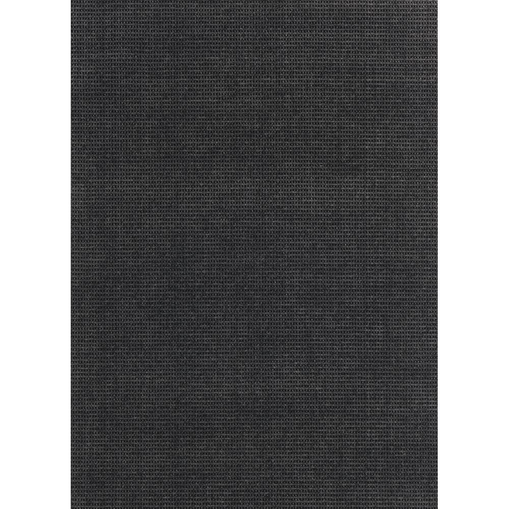 Image of 6' x 8' Pin Dot Indoor/Outdoor Rug Black - Foss Floors, Grey
