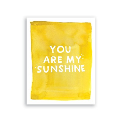 Clementine Kids You Are My Sunshine Art