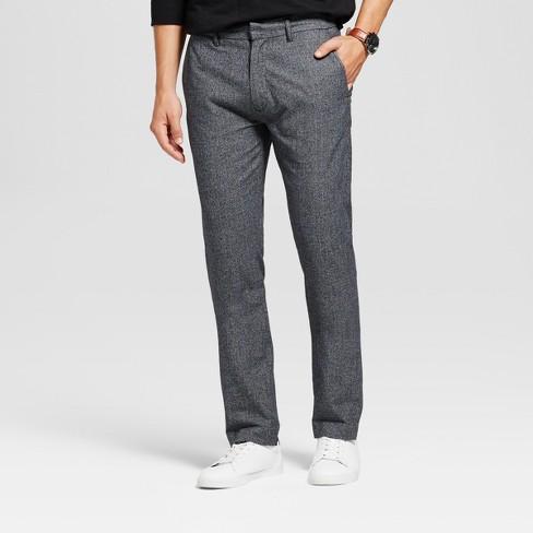 Men's Slim Fit Trouser Pants - Goodfellow & Co™ Black 36X32 - image 1 of 3
