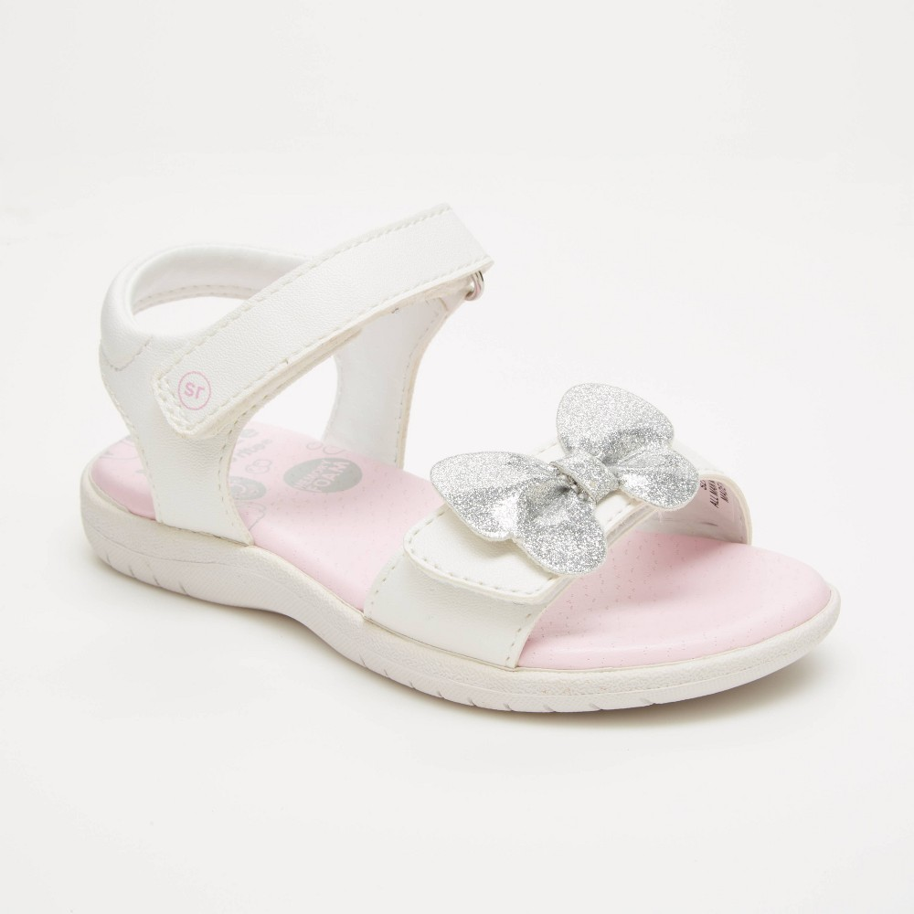 Toddler Girls 39 Surprize By Stride Rite Kendra Fisherman Sandals White 10
