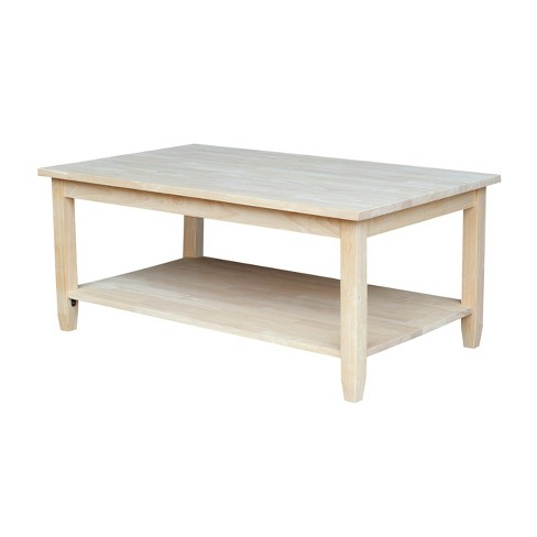 Solano Coffee Table - International Concepts - image 1 of 6