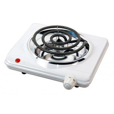 Brentwood Electric 1000W Single Burner in White